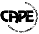 California Accreditation for Pharmacy Education Logo