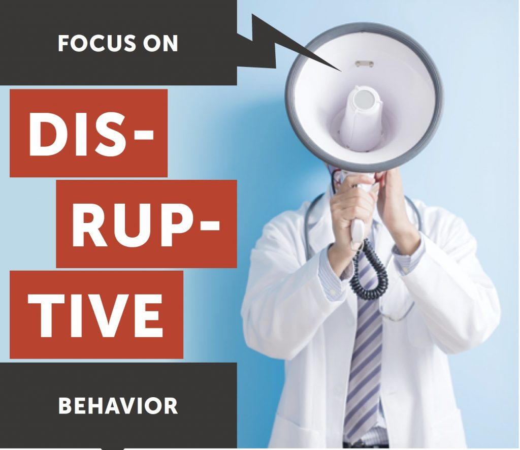 Focus on Disruptive Behavior