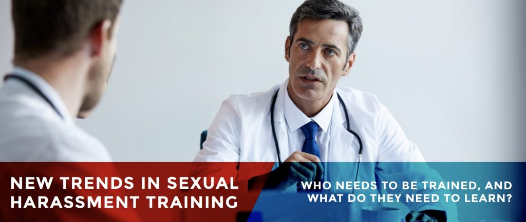 New Trends in Sexual Harassment Training