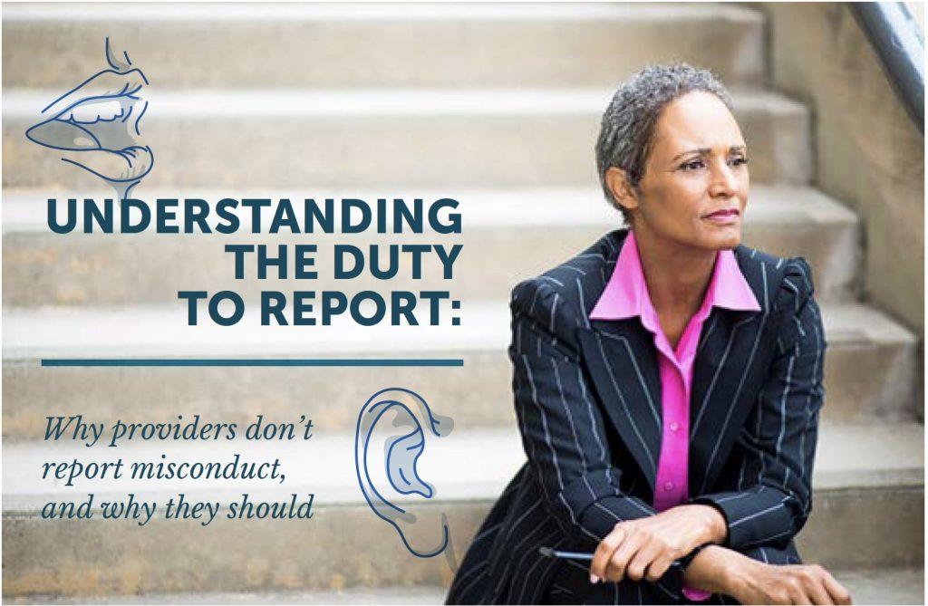 Understanding The Duty to Report