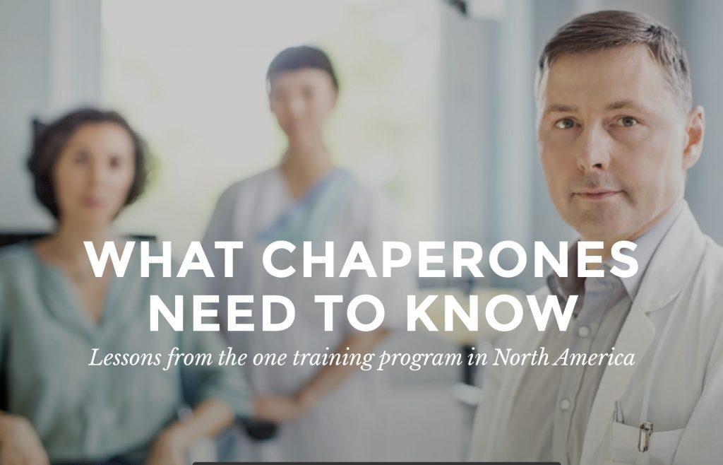 What Chaperones need to know