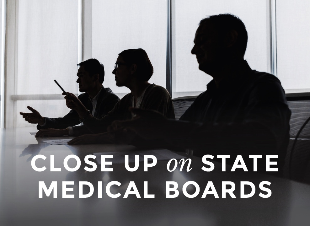 large image CLose Up on State Medical Boards