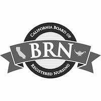 CA Board of Registered Nursing Logo